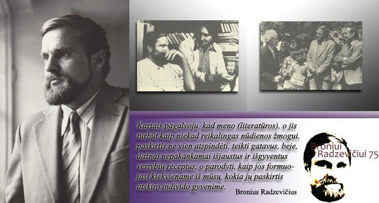 Bronius Radzevičius leidiniuose.