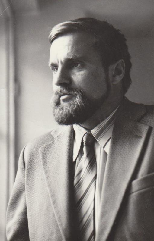 Bronius Radzevičius. Apie 1978 m.
