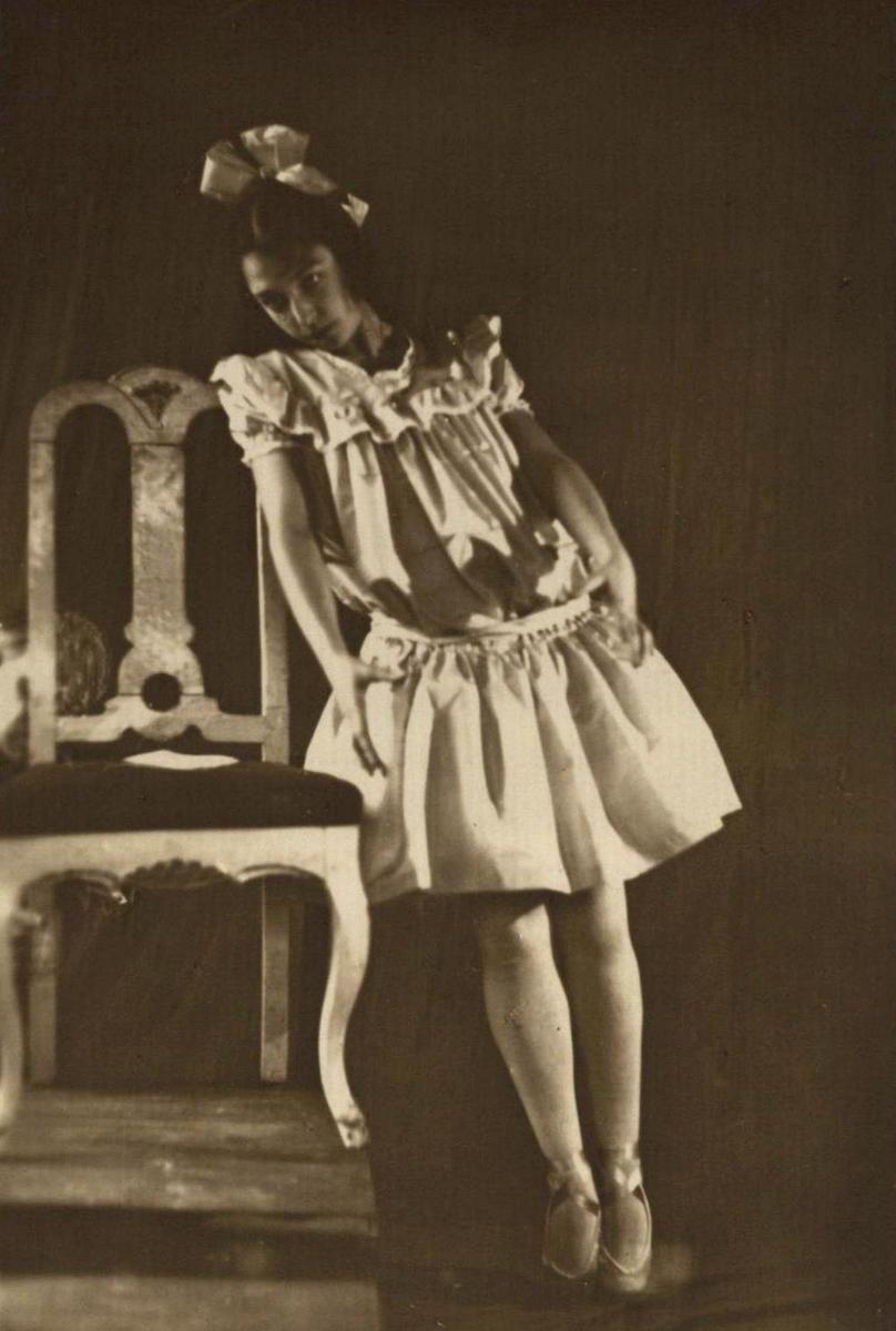 Olga Malėjinaitė 1925 m.