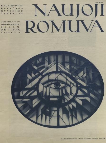 """Radzevičius B. """"Mechaniniai laikrodžiai stovi...""""; """"Argi iš ten iš anapus..."""": [eil.] / [su V. Kubiliaus prier. apie aut.] // Naujoji Romuva. 2001, nr. 1, p. 26–32."""