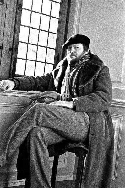 J. Budraitis Kopenhagoje (Danija). Autoportretas. 1984 m.