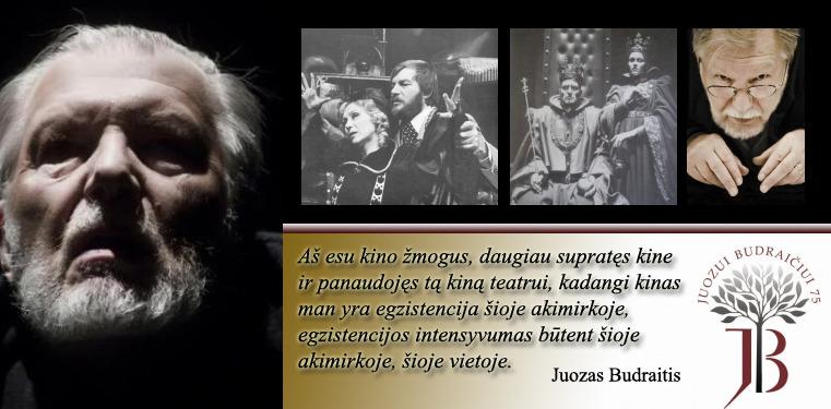 Juozas Budraitis teatro scenoje