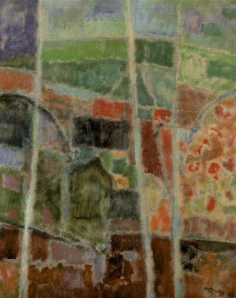 Pavasario nuojauta. 1987. Drobė, aliejus