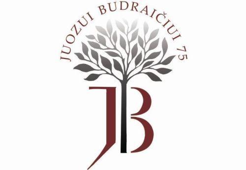 Juozo Budraičio parodos logotipas.