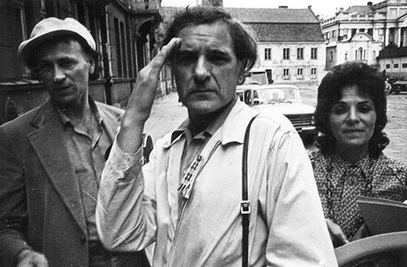 Jonas Mekas, Adolfas Mekas ir Pola Chapelle Lietuvoje. 1971 m.