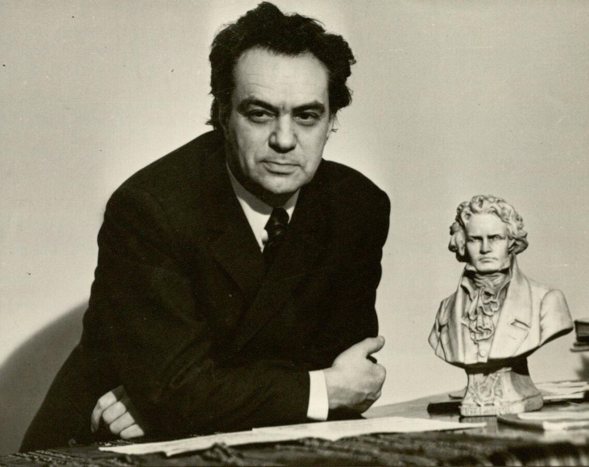 Vienas iš mėgstamiausių R. Geniušo kompozitorių buvo L. van Bethovenas.