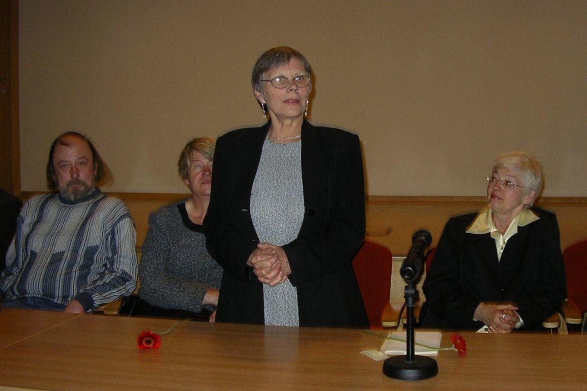 Poezijos pavasaris vaikams Nacionalinėje bibliotekoje. 2006 m.