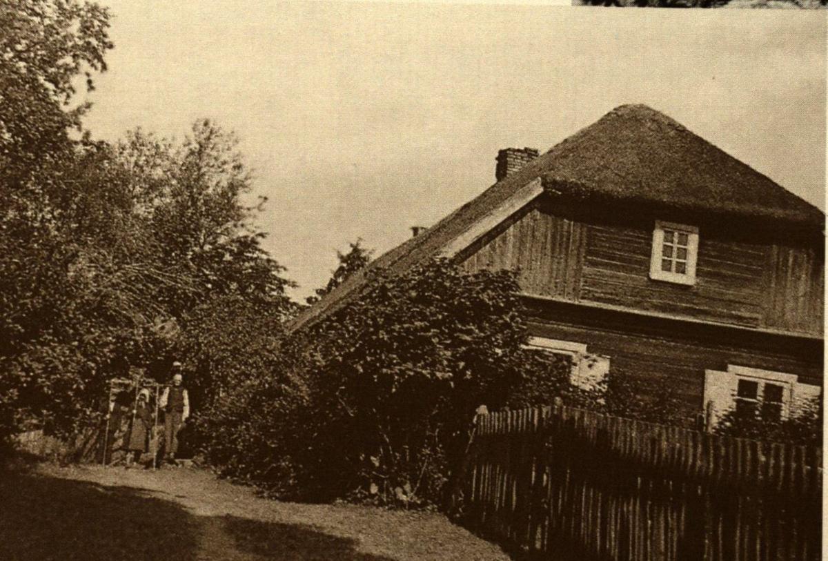 Gimtasis namas Užraguvyje, statytas 1899 m.