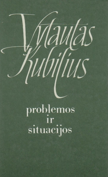 Problemos ir situacijos: straipsnių rinkinys.