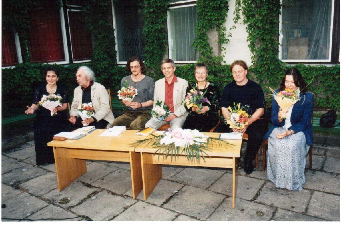 Poezijos pavasaris Birštone. 1998 m.