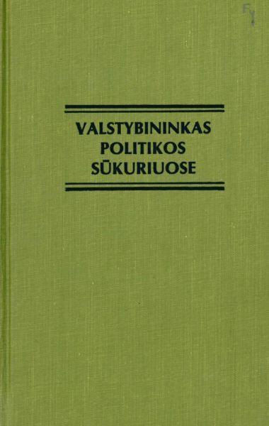 Valstybininkas politikos sūkuriuose: prelatas Mykolas Krupavičius, 1885–1970: biografinė apybraiža: amžininkų atsiminimai, dokumentai, laiškai.