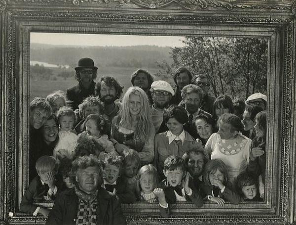 """Filmo """"Velnio nuotaka"""" kūrybinė grupė. 1974 m."""