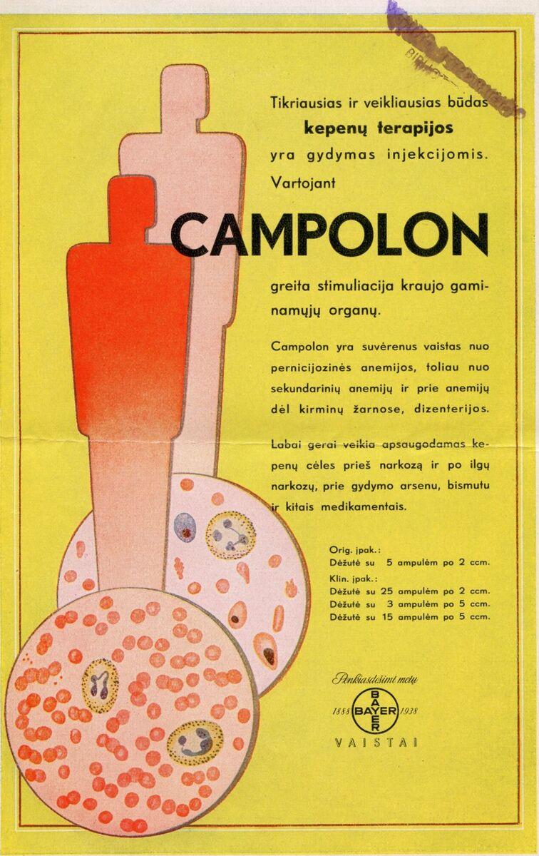 """""""Campolon: tikriausias ir veikliausias būdas kepenų terapijos..."""""""