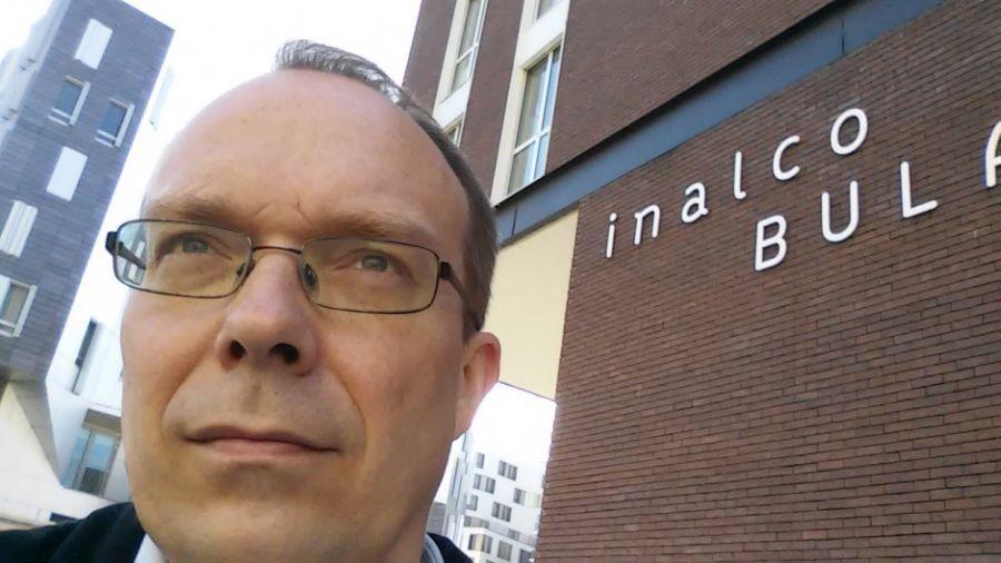 LEU LF prof. dr. D. Vaitiekūnas skaitė paskaitas Paryžiuje. 2015 m.