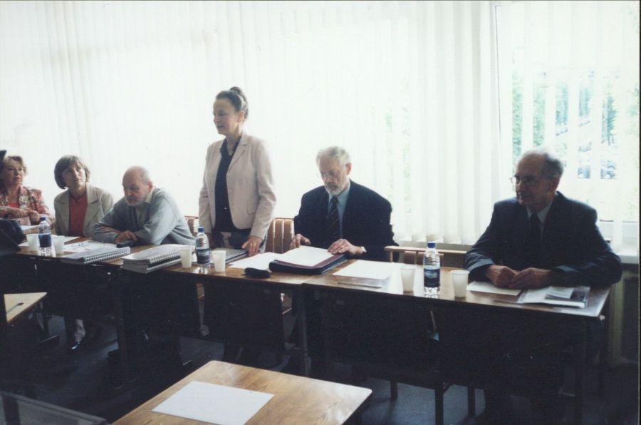 Magistro baigiamųjų darbų gynimas LEU Lituanistikos fakultete. 2010 m.