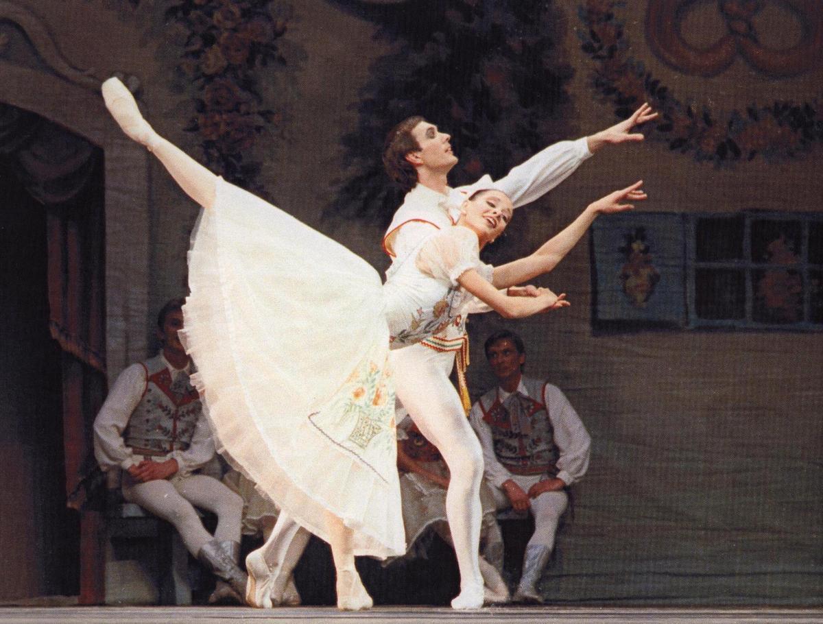 Eglė Špokaitė - Swanilda ir Francas – Aleksandras Molodovas trečiajame veiksme 1999 m.