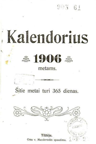 Grinius K. Negerkime degtinės! // Kalendorius: 1906 metams. 1905, p. 31–38.