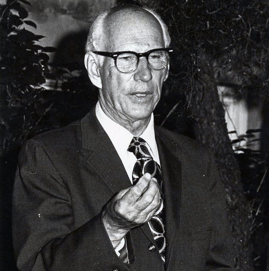 Pirmasis LRTD pirmininkas Stasys Santvaras. Č. Čikoto nuotr.