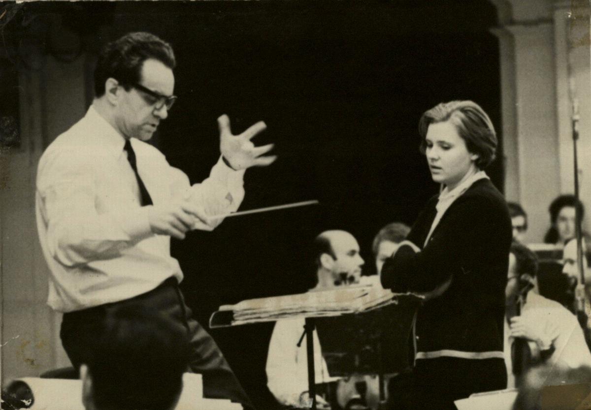 R. Geniušas ir Giedrė Kaukaitė. 1971 m.