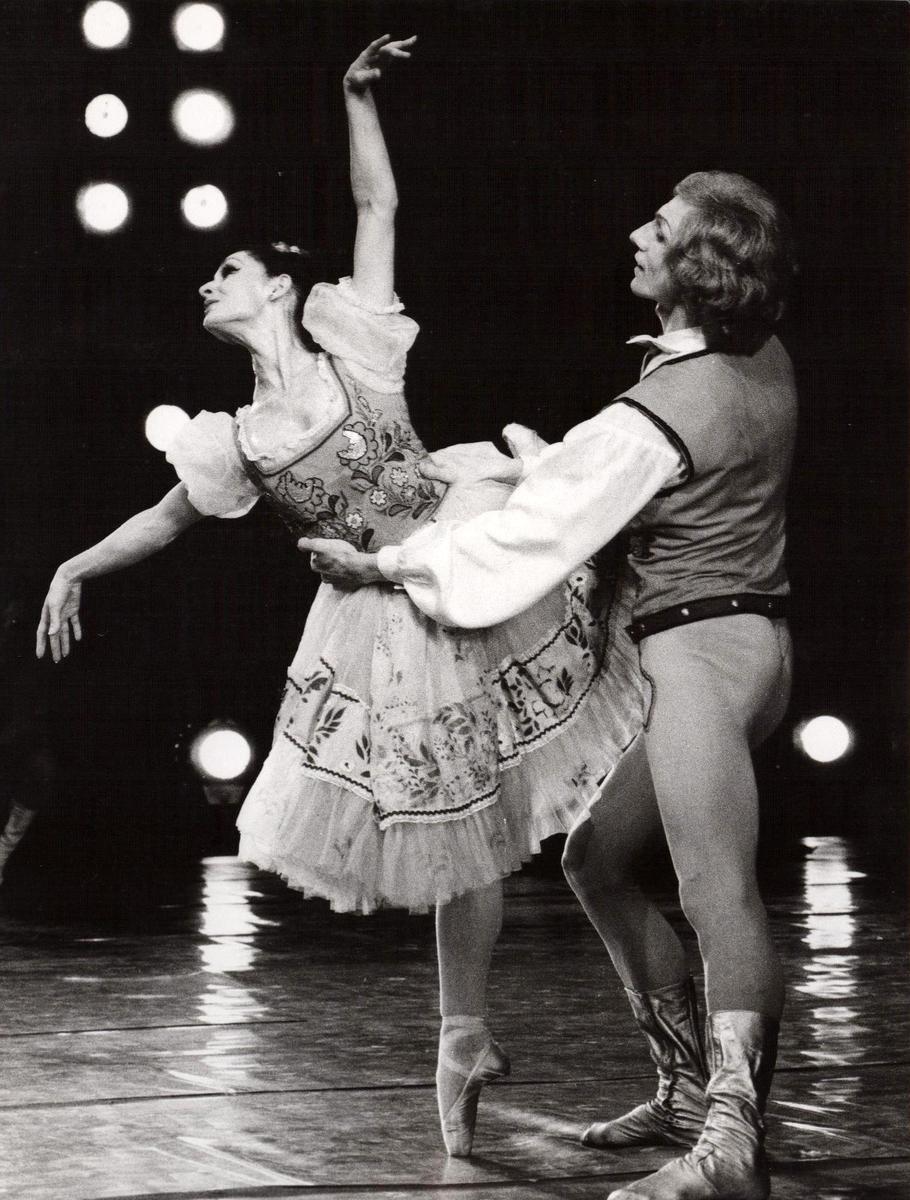 Neli Beredina ir Jonas Katakinas 1987 m.