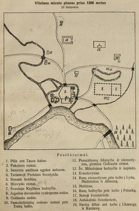 Mūsų kovos dėl Vilniaus: 1322–23 – 1922–23. Fragmentas. p. 97.