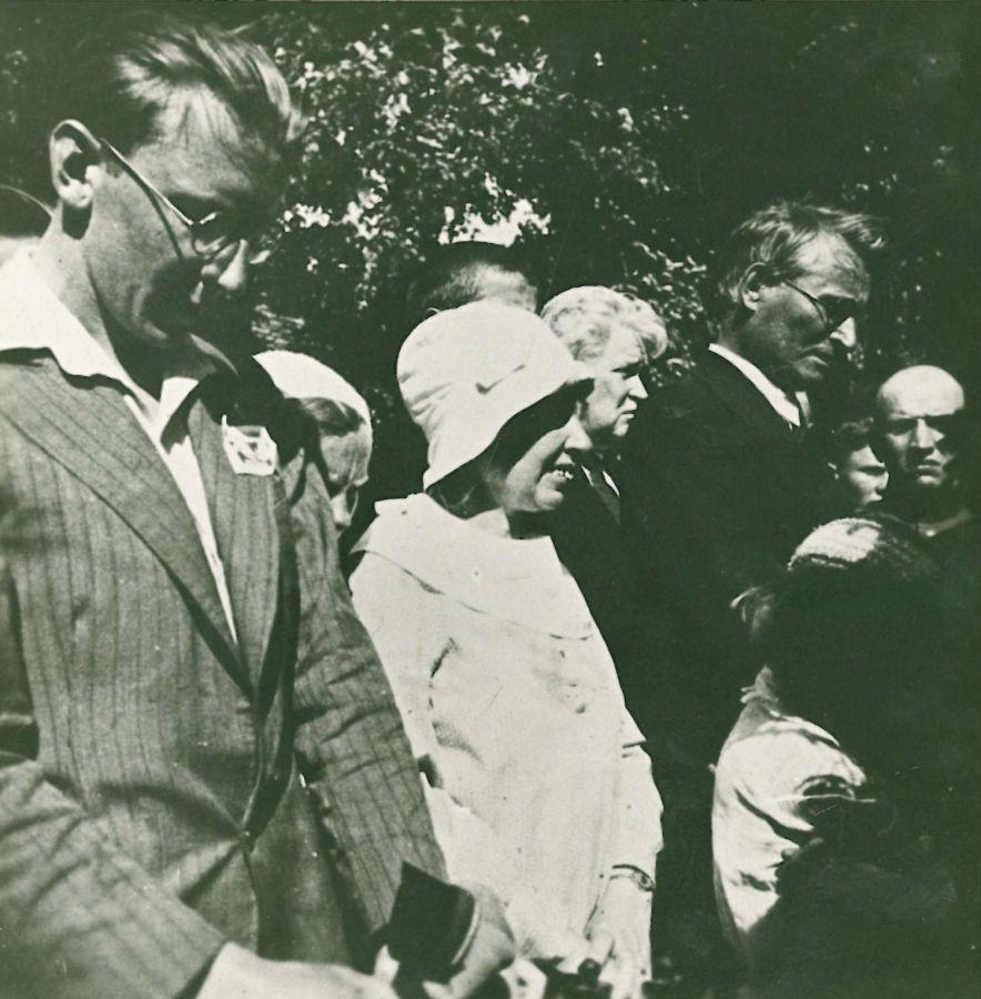 K. Grinius paminklo V. Kudirkai atidarymo metu. 1934 m.