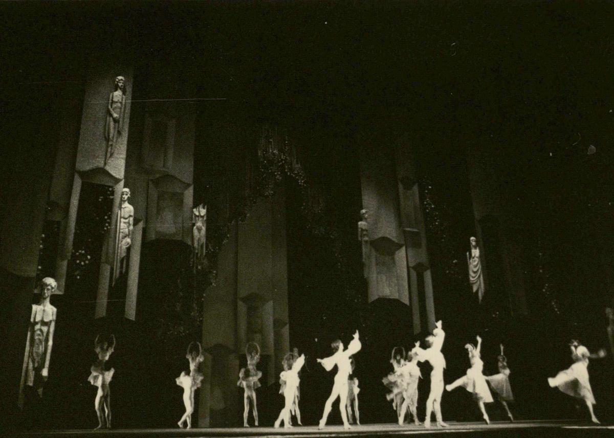 Scena iš spektaklio