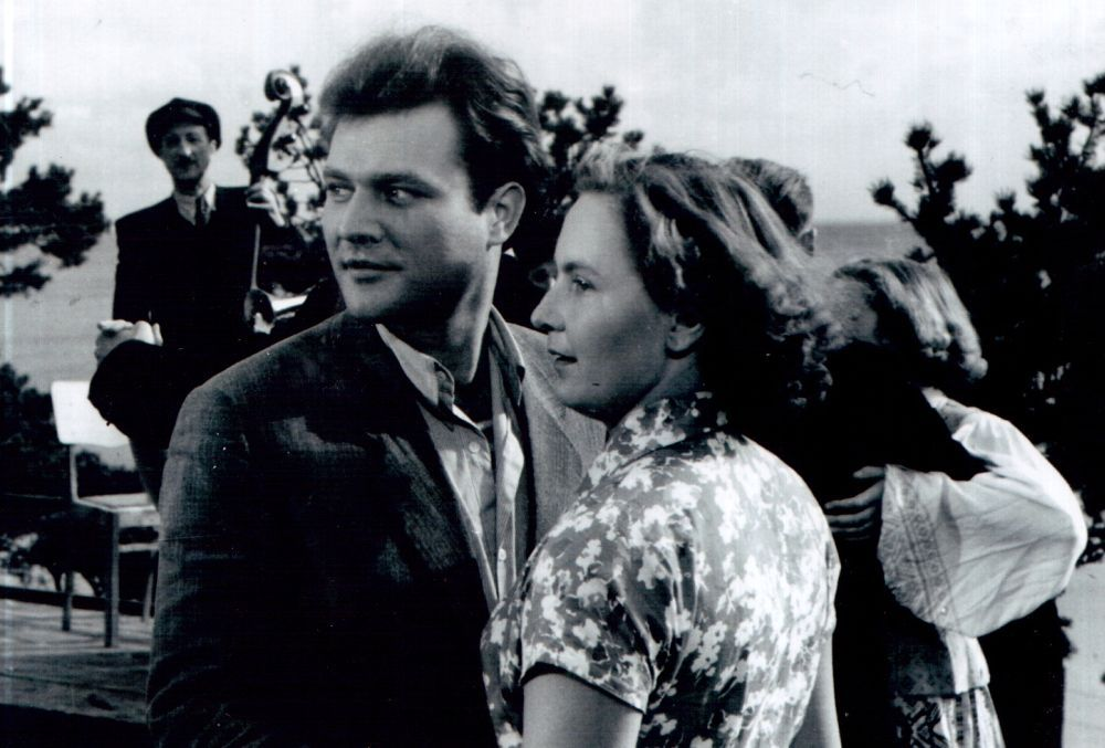 Būsimoji V. Žalakevičiaus žmona Gražina Rukšėnaitė. 1956 m.