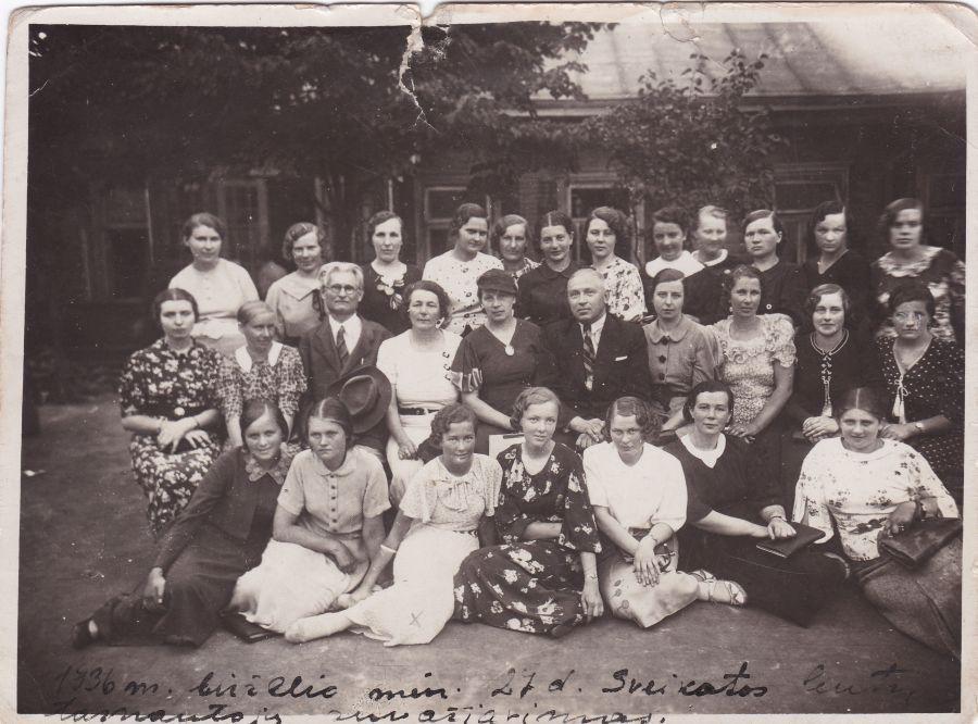 Sveikatos centrų tarnautojų suvažiavimas. 1936 m. birželio 27 d.