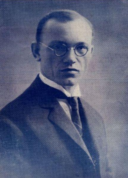 Petras Klimas. 1925 m.