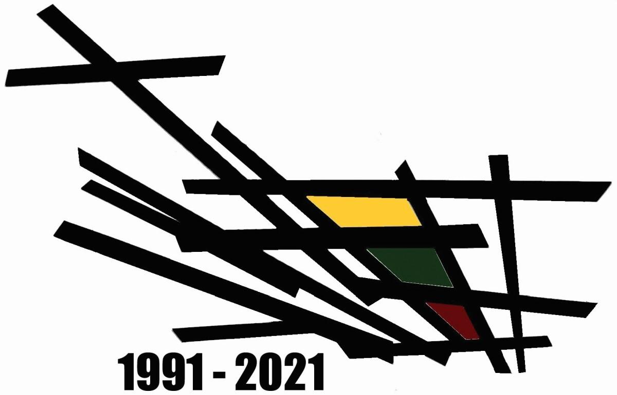 Sausio 13-osios atminimo logotipas