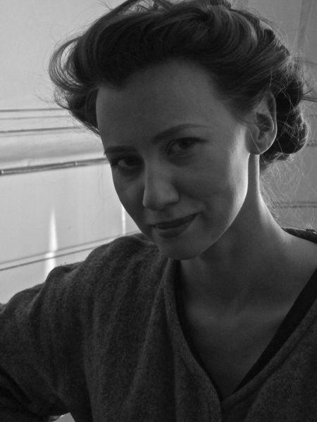 Aktorė V. Kutavičiūtė. 2015 m.