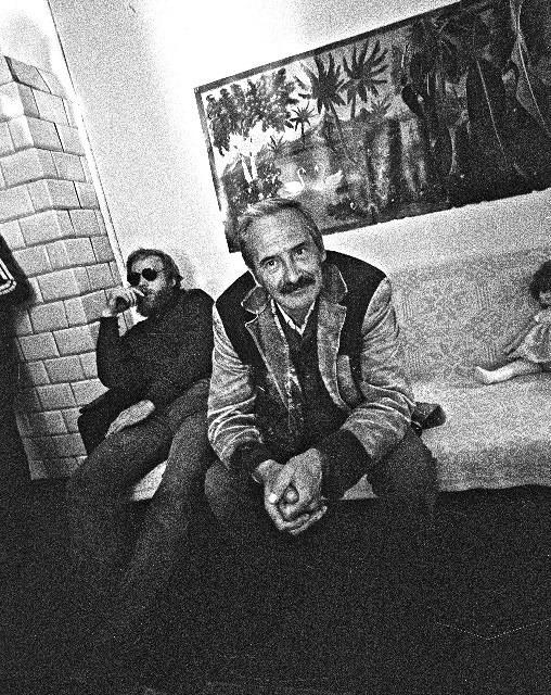 Kino režisierius A. Grikevičius. 1984 m.