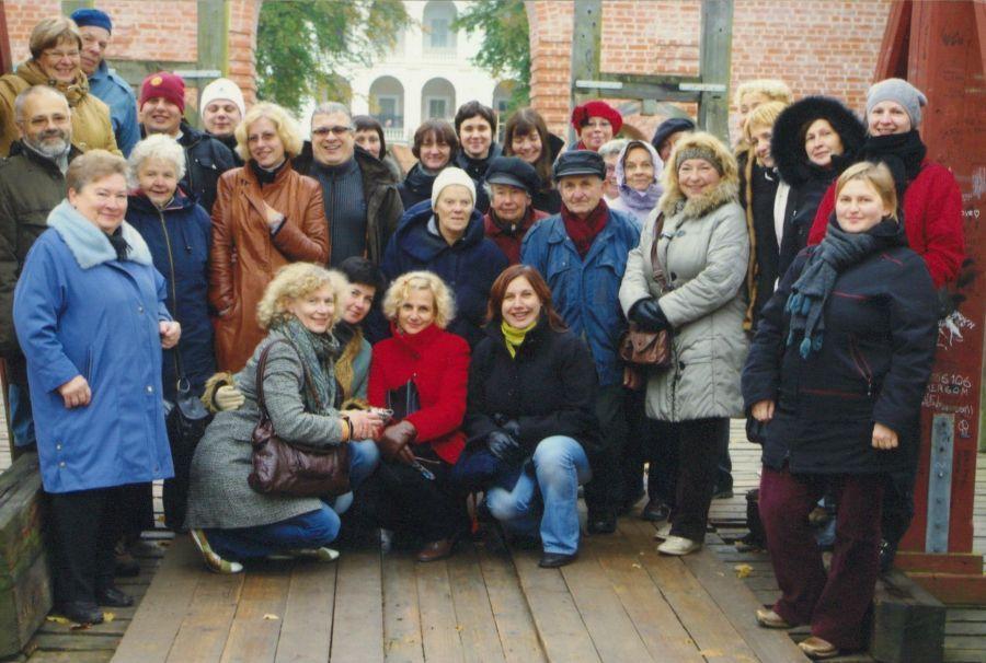 Lituanistikos fakulteto išvyka į Biržų kraštą. 2009 m.