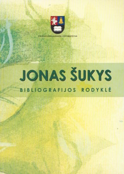 Jonas Šukys. Bibliografijos rodyklė.