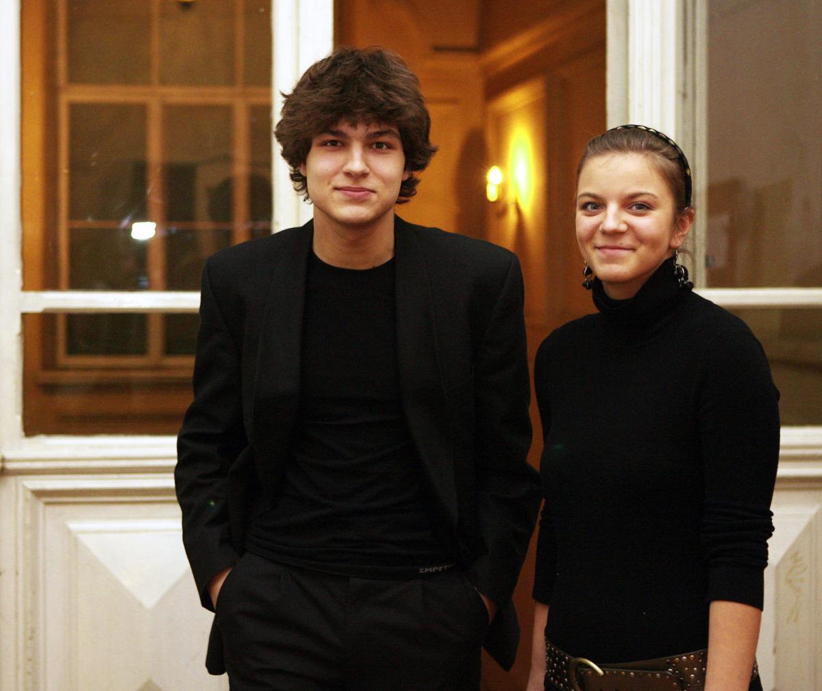 Lukas Geniušas ir Marija Geniušaitė. Lietuvos Muzikos ir teatro akademija. 2006 m.