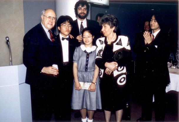 M. Rostropovičius, Tetsu Yosginaga, Petras Geniušas, Ayako Uegara, Vera Gornastajeva, Akira Watanabe