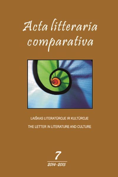 Acta litteraria comparativa.