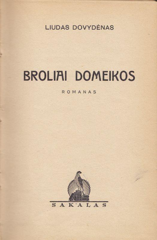 Broliai Domeikos