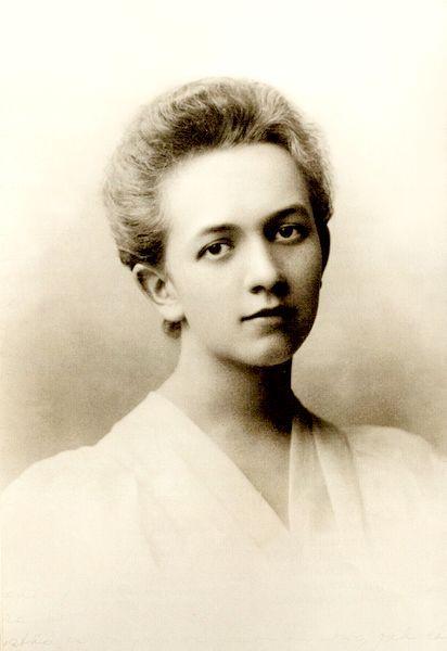 Sofija Dembovskytė. 1911