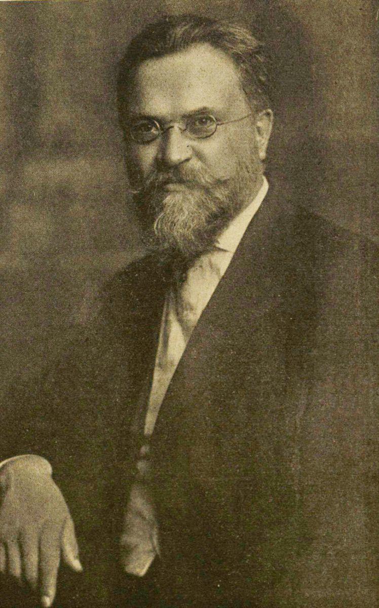 Dr. J. Šliūpas apie 1910 m.