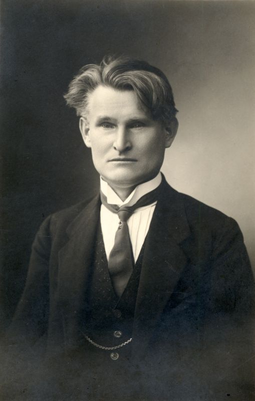 Lietuvos Respublikos Prezidentas Kazys Grinius. Portretas. 1926 m.