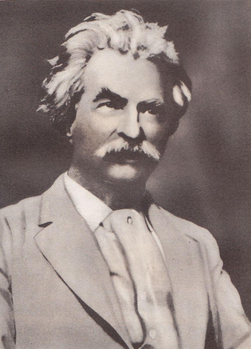 Markas Tvenas. 1900 m.