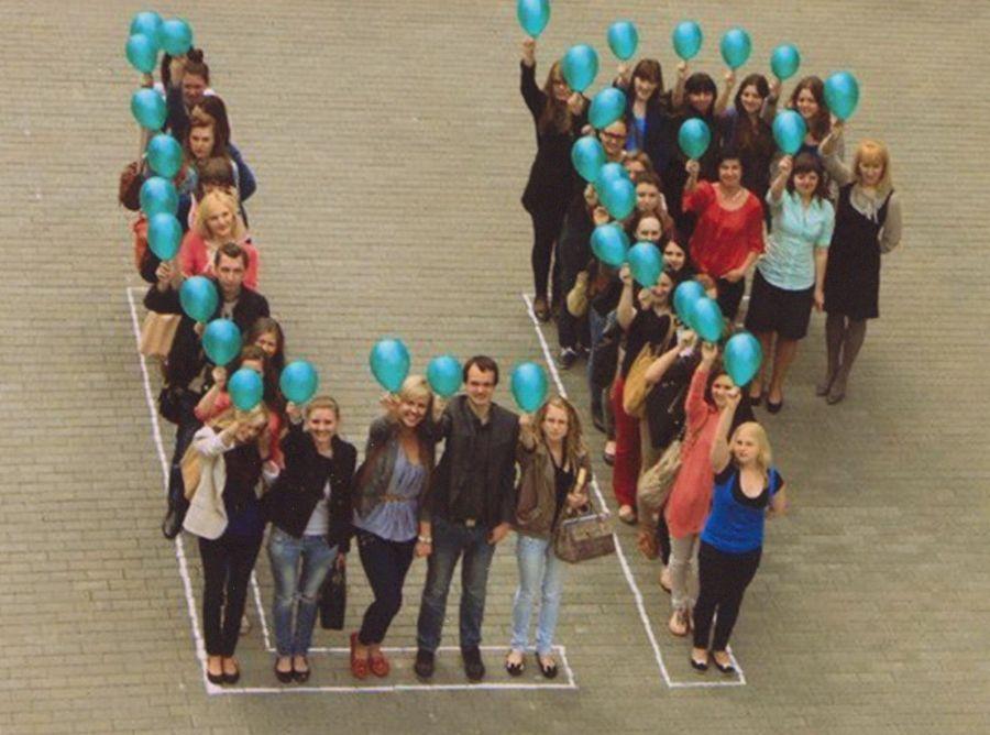 Lituanistikos fakulteto studentai. 2013 m.