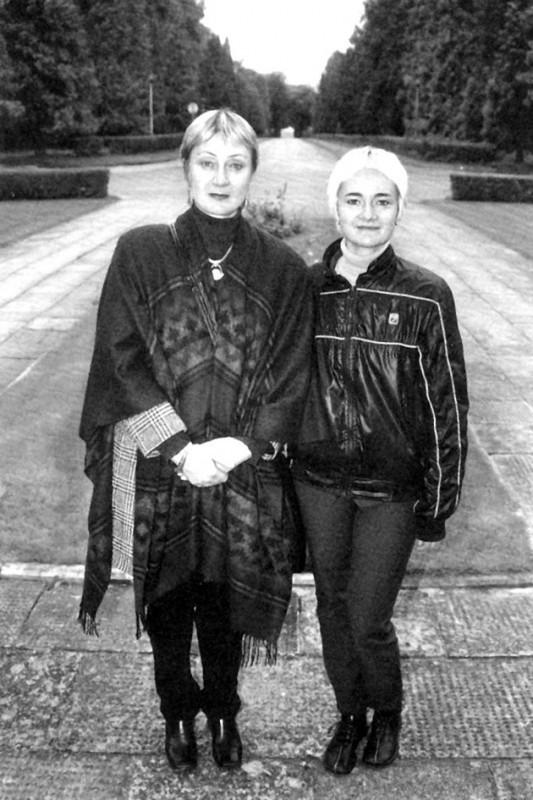 V. Žalakevičiaus trečioji žmona Lika su dukra Anastasija.