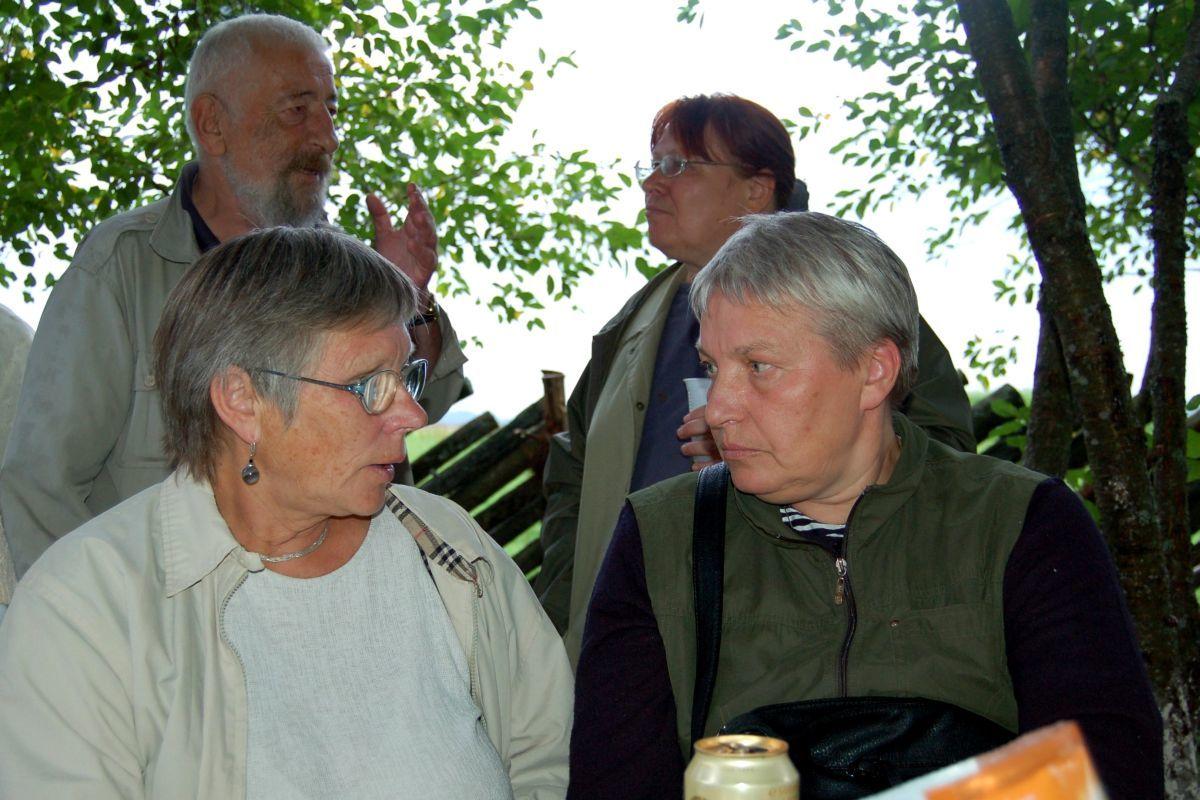 Alma Karosaitė ir Irena Aleksaitė. 2010