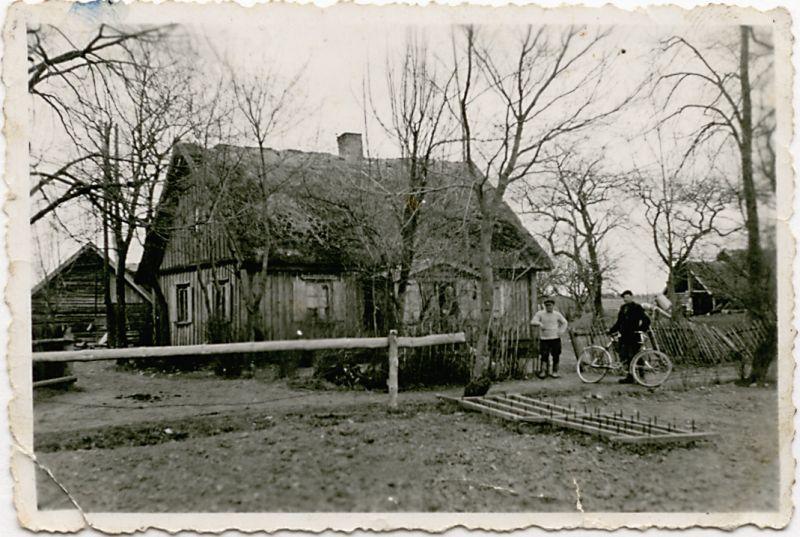 Liudo Dovydėno gimtieji namai Trumpiškio kaime, Čedasų parapijoje