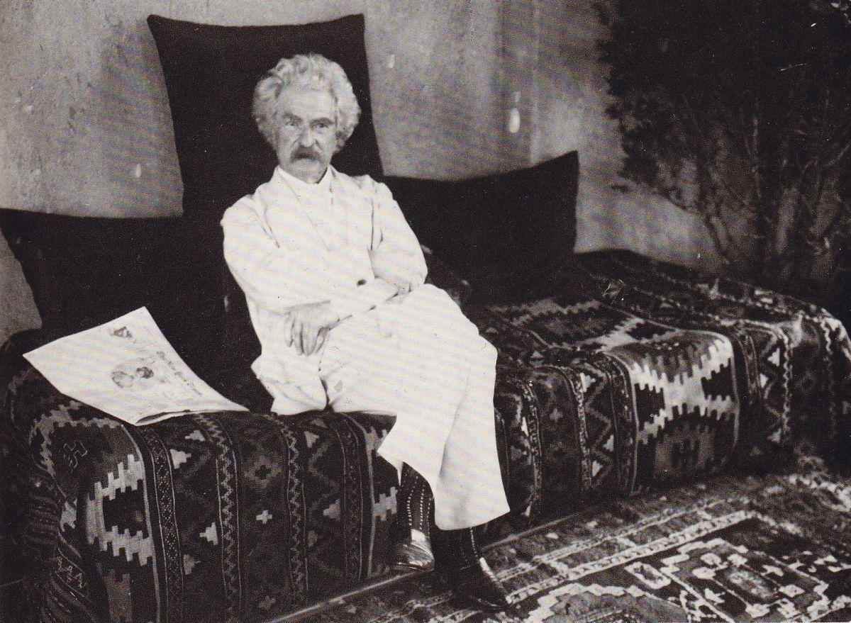 Markas Tvenas, 1909 m.