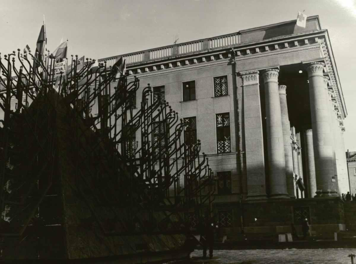Nacionalinė biblioteka 1991 m. Sausio 13-ąją