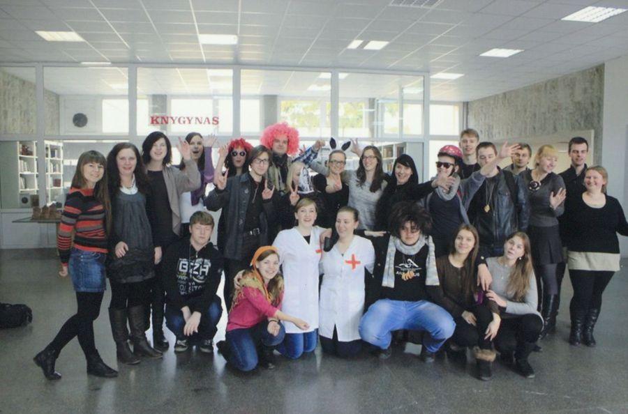 LEU LF studentai. 2013 m.